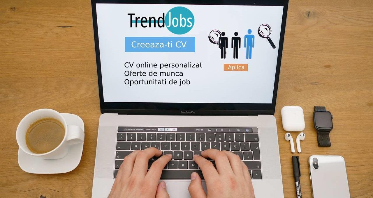 Anunturi angajari - oferte de munca - joburi - locuri de munca - Trend-Jobs